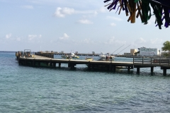 Pier in Cozumel
