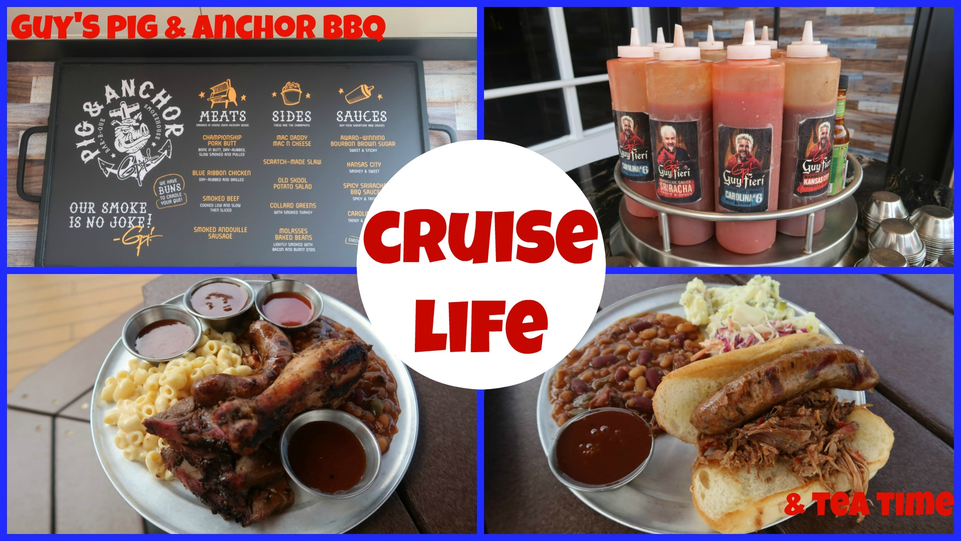 Cruise Life Guy S Pig Amp Anchor And Tea Time Carnival Dream Eecc Travels